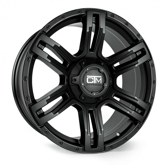 18 Inch Viking Black Wheel And Tyre Package