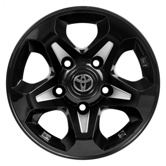 "CTM OFFROAD ""TRACK"" 16X8 BLACK"