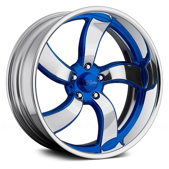 BILLET SERIES- DECEPTIVE 5 BLUE ACCENTS