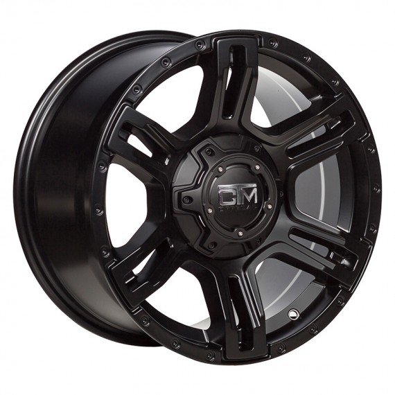 "CTM OFFROAD ""VIKING"" 17x9 BLACK"