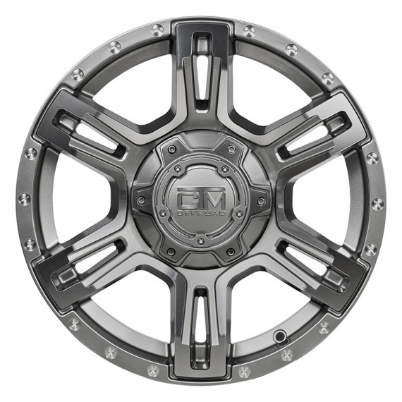 17 Inch Viking Gunmetal Wheel And Tyre Package