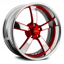 BILLET SERIES- SPEEDSTER 5 RED ACCENTS