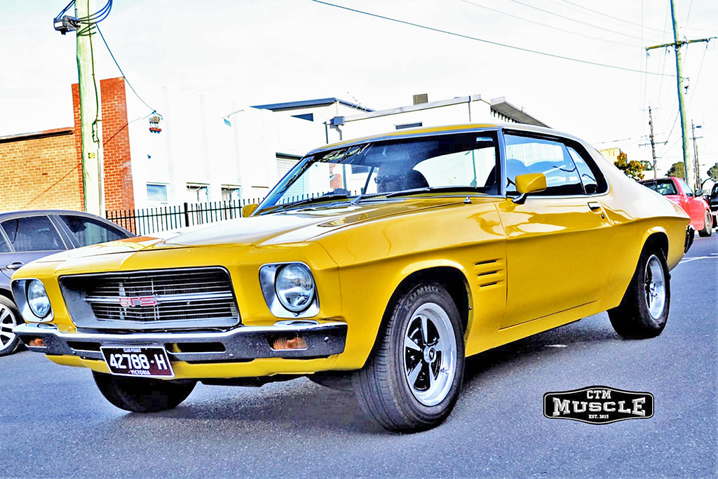 Holden Monaro fitted with 15 inch CTM Muscle GTS Sprint wheels