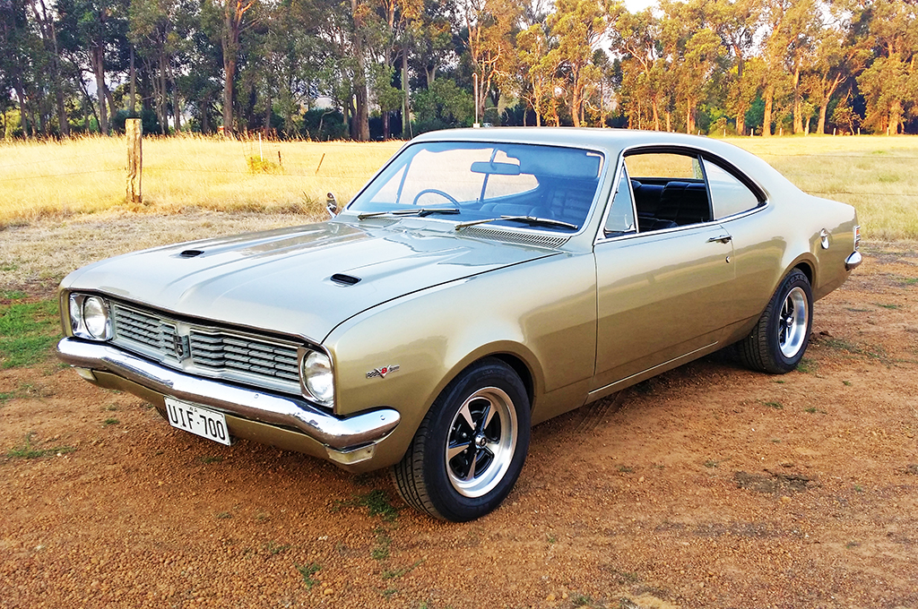 Holden HK Monaro fitted with CTM Muscle GTS Sprint wheels