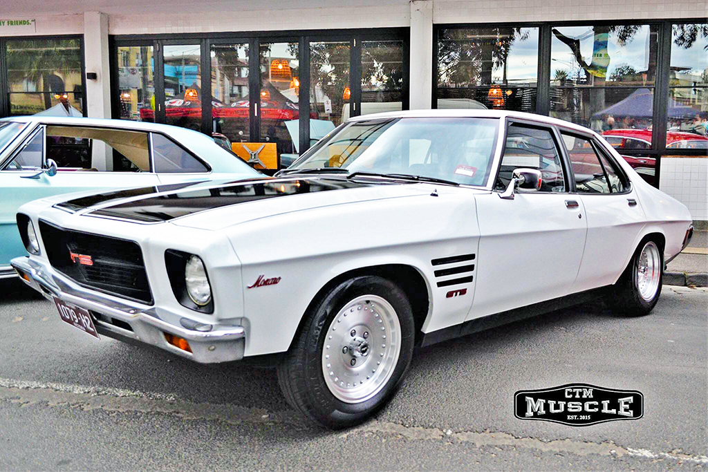 Classic Holden fitted with CTM Muscle Burnout wheels