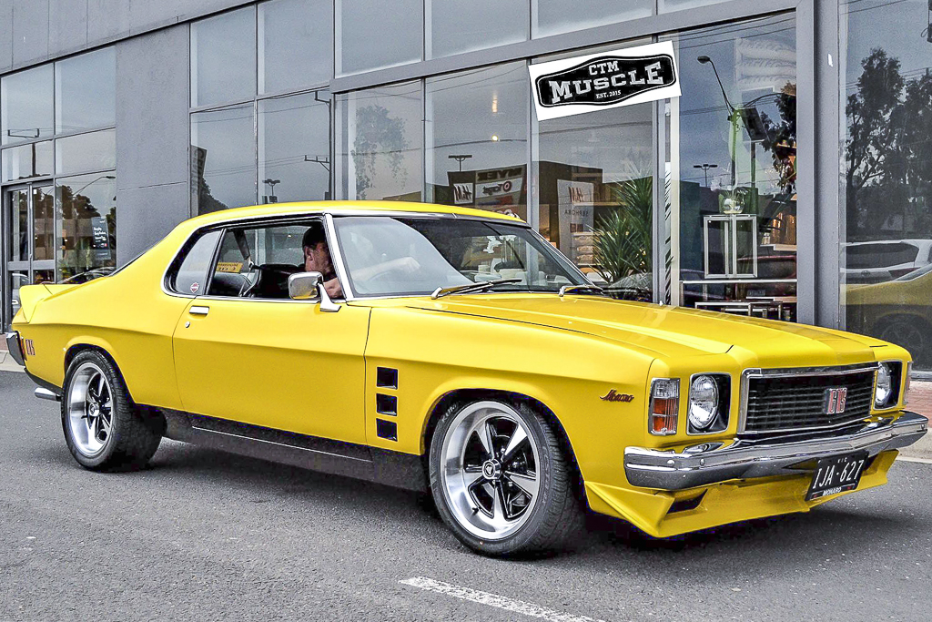 HX Monaro fitted with GTS Sprint wheels