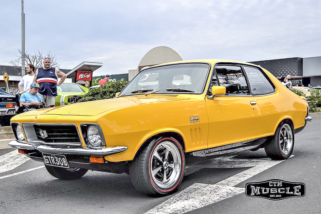 LJ Torana fitted with CTM Muscle GTS Sprint wheels