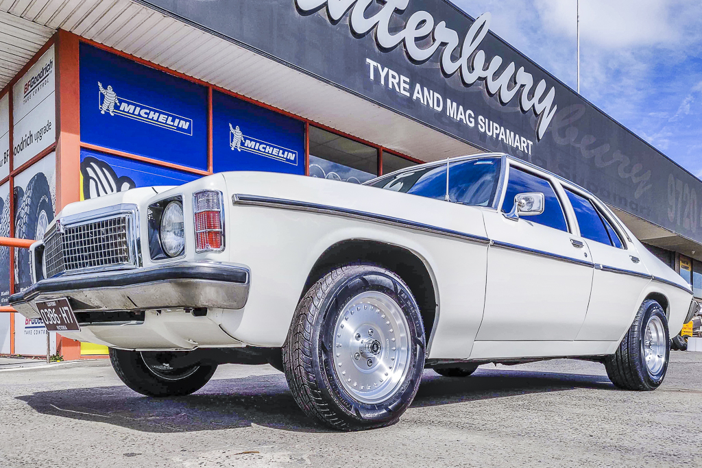 Holden HQ fitted with CTM Muscle Burnout wheels