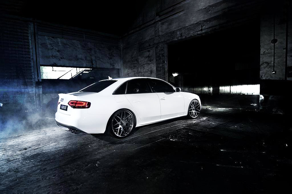 Audi A4 fitted with SSW M-Spec wheels