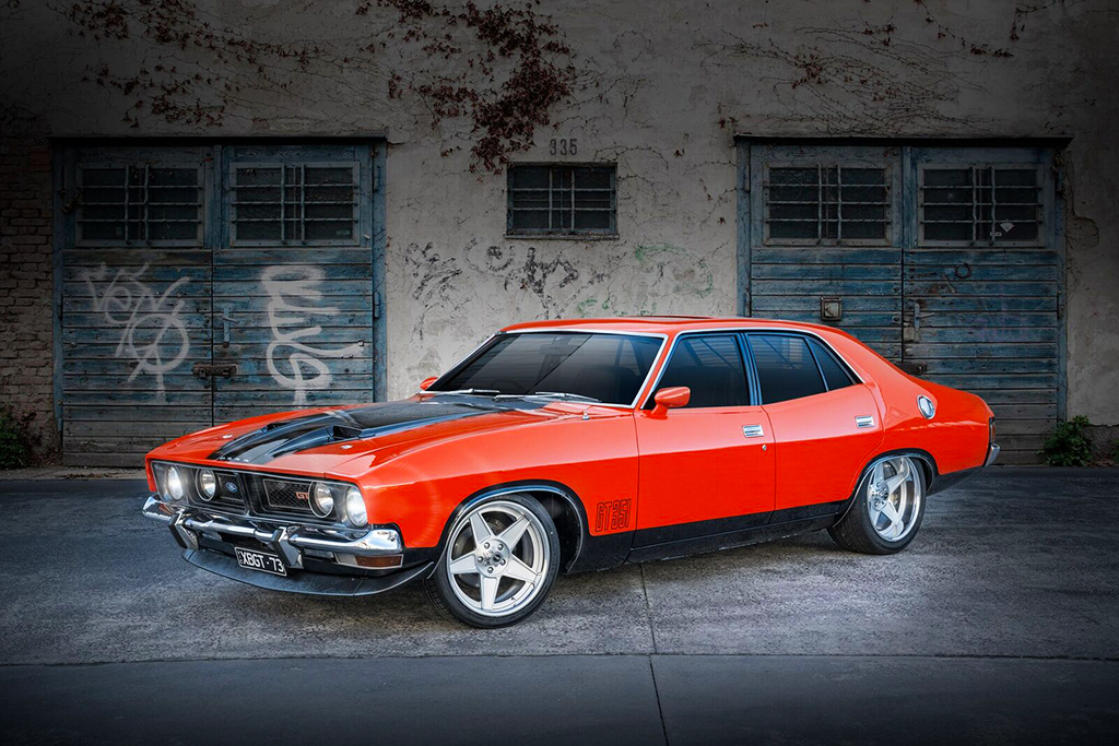 Ford XB Falcon with custom CTM Forged Globe