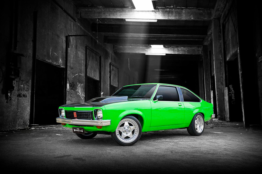 Holden LX Torana with CTM Muscle Custom Pro 17-inch wheels