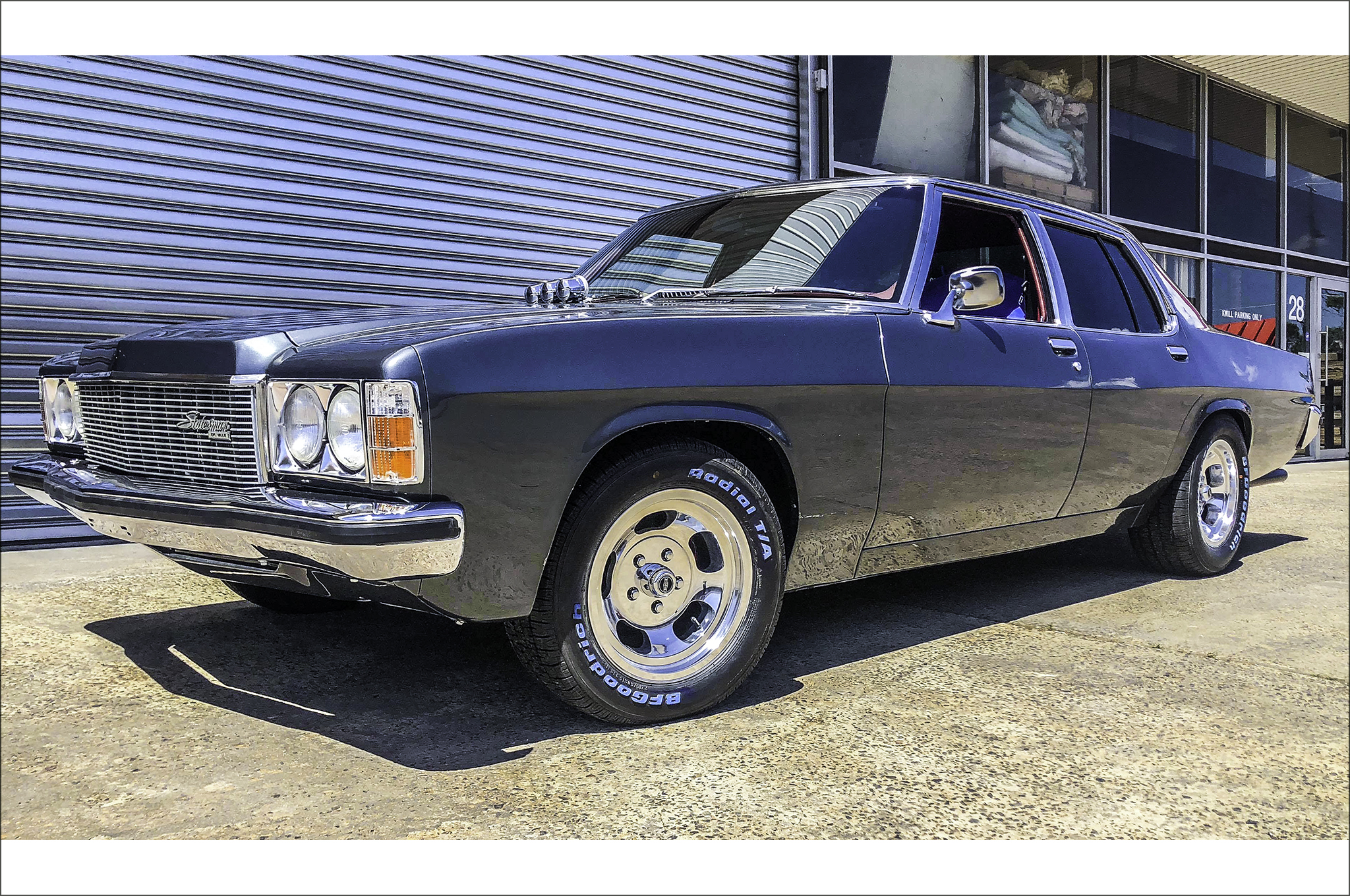 Holden Classic fitted with CTM Muscle Indy wheels