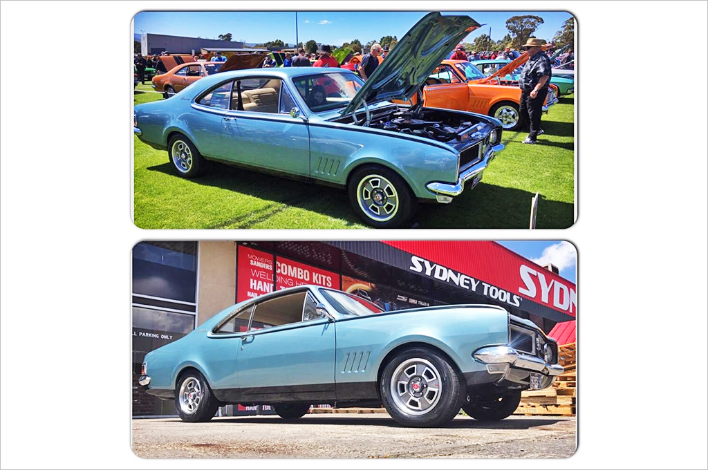 Holden Monaro fitted with CTM Muscle GTS Custom wheels